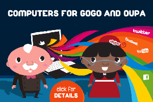 computers for oupa and gogo